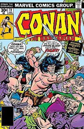 Conan The Barbarian (1970-1993) #70