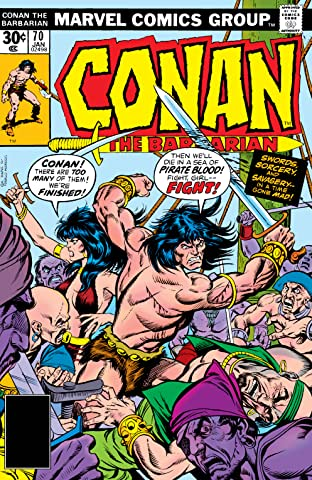 Conan The Barbarian (1970-1993) #70