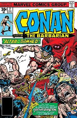 Conan The Barbarian (1970-1993) #71