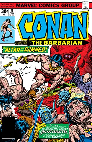 Conan The Barbarian (1970-1993) #71