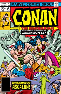 Conan The Barbarian (1970-1993) #72
