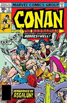 Conan The Barbarian (1970-1993) #72
