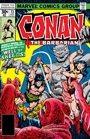 Conan The Barbarian (1970-1993) #73