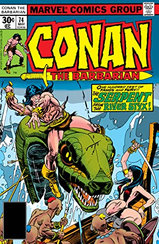 Conan The Barbarian (1970-1993) #74