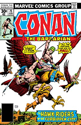 Conan The Barbarian (1970-1993) #75