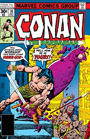 Conan The Barbarian (1970-1993) #76