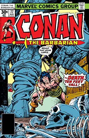 Conan The Barbarian (1970-1993) #77