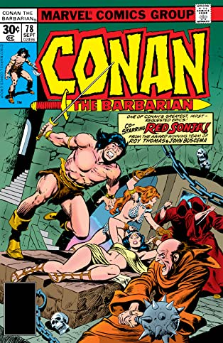 Conan The Barbarian (1970-1993) #78