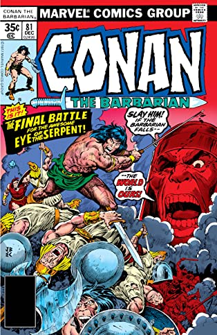 Conan The Barbarian (1970-1993) #81