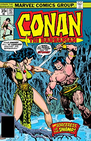 Conan The Barbarian (1970-1993) #82