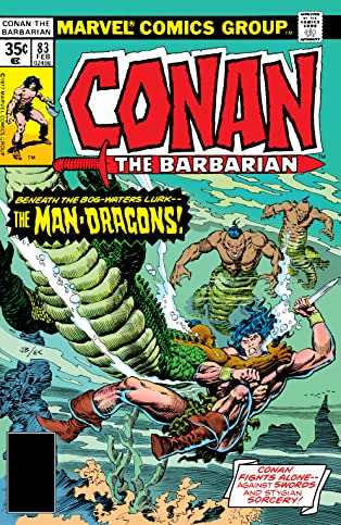 Conan The Barbarian (1970-1993) #83