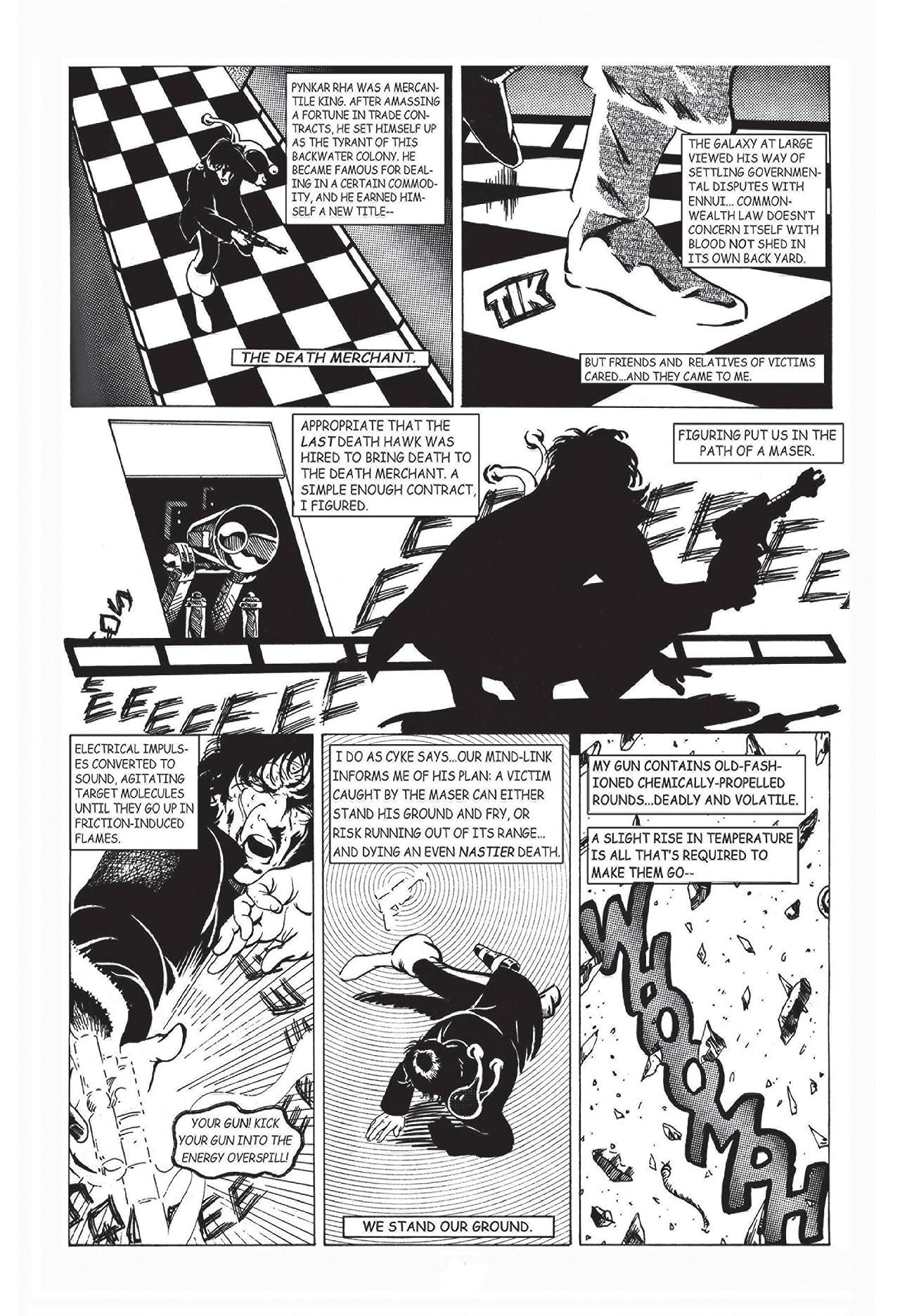 Death Hawk - The Complete Saga