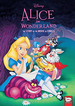 Disney Alice in Wonderland: The Story of the Movie in Comics