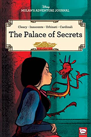 Disney Mulan's Adventure Journal: The Palace of Secrets