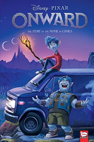 Disney•PIXAR Onward: The Story of the Movie in Comics