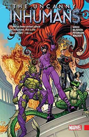 Uncanny Inhumans Vol. 1 Collection