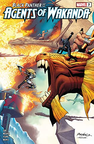 Black Panther And The Agents Of Wakanda (2019-) #7