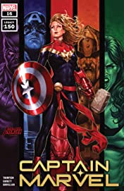 Captain Marvel (2019-) #16