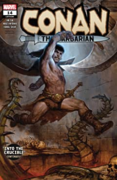 Conan The Barbarian (2019-) #14