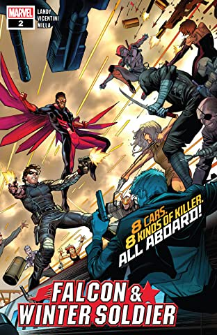 Falcon & Winter Soldier (2020) No.2 (sur 5)