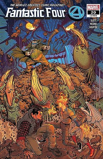 Fantastic Four (2018-) #20