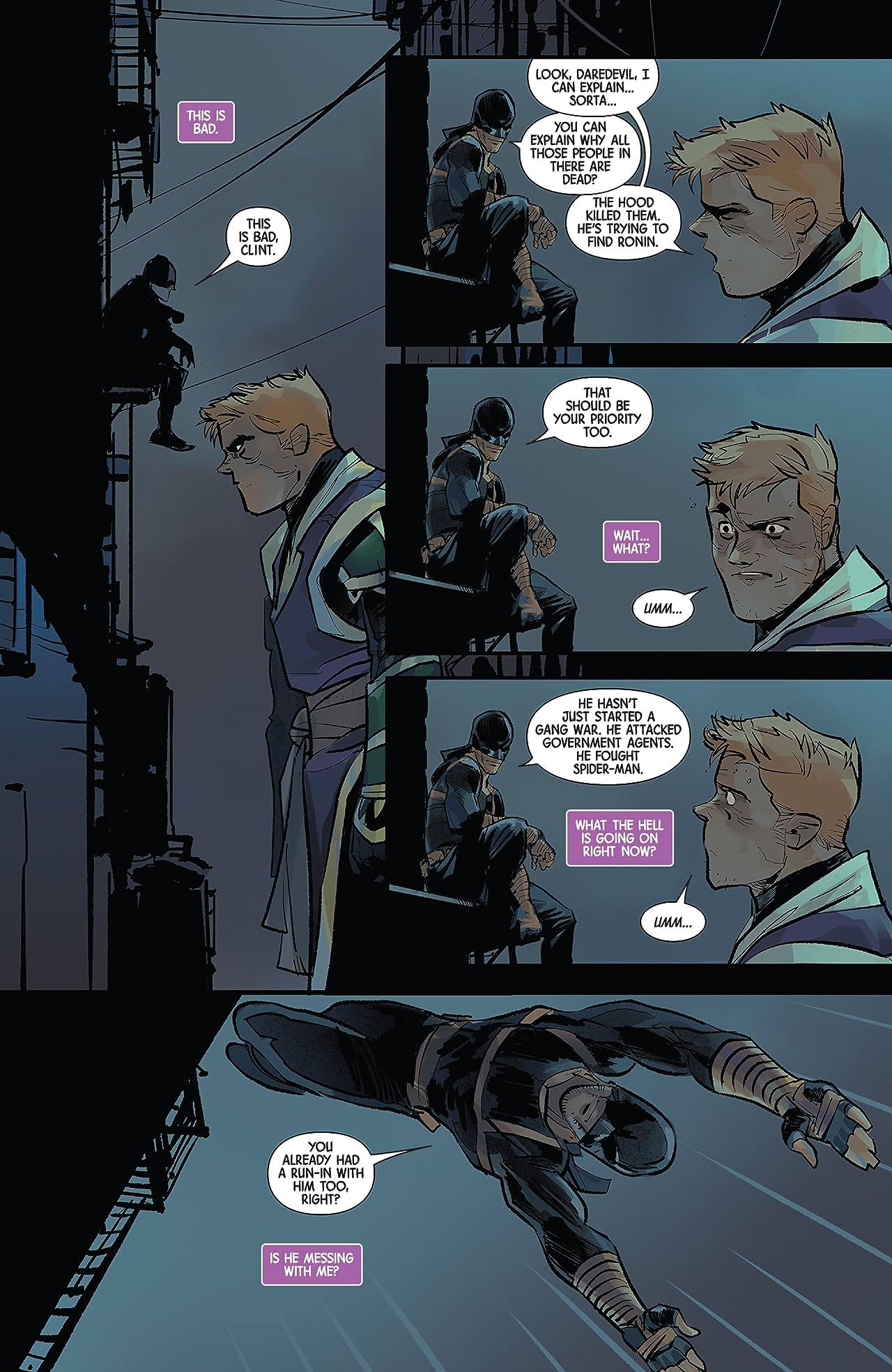 Hawkeye: Freefall (2020-) #4