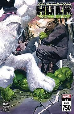 Immortal Hulk (2018-) #33