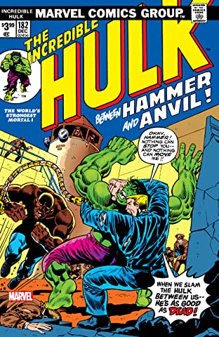 Incredible Hulk (1962-1999) No.182: Facsimile Edition
