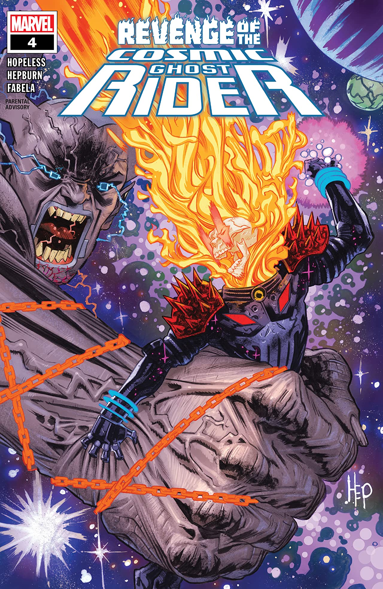 Revenge Of The Cosmic Ghost Rider (2019-) No.4 (sur 5)