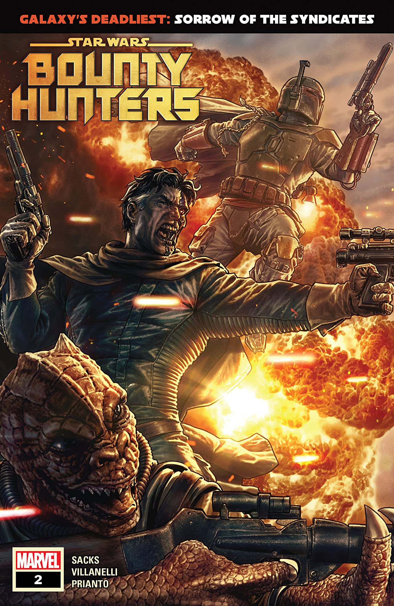 Star Wars: Bounty Hunters (2020-) #2