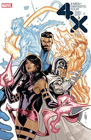 X-Men/Fantastic Four (2020) No.3 (sur 4)