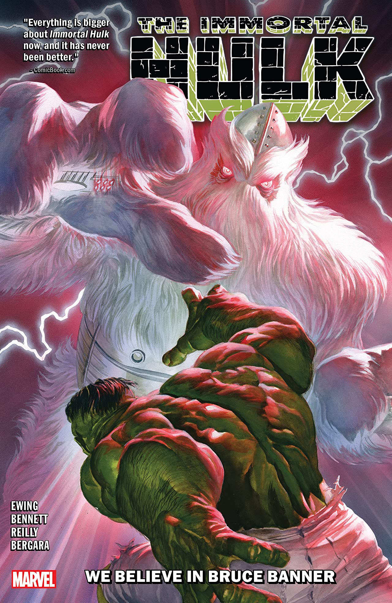 Immortal Hulk Vol. 6: We Believe In Bruce Banner