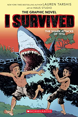 I Survived the Shark Attacks of 1916 Tome 2
