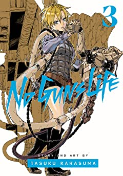 No Guns Life Vol. 3