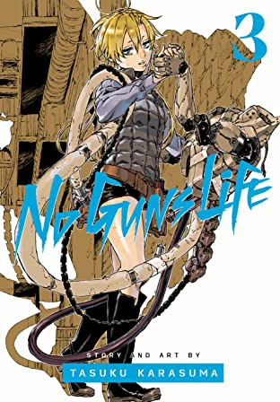 No Guns Life Vol. 3