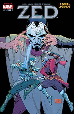 League Of Legends: Zed (French) #3 (of 6)