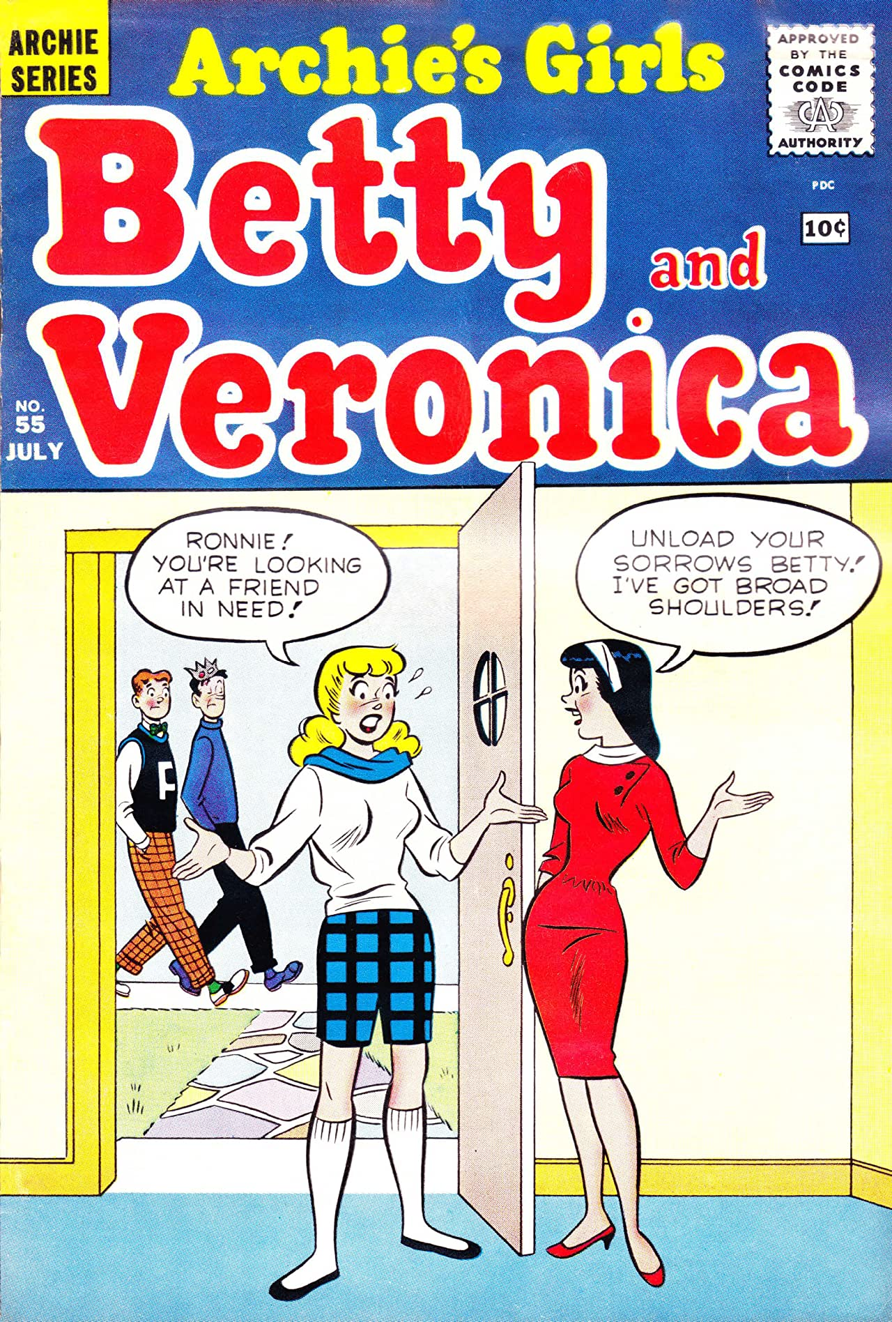 Archie's Girls Betty & Veronica No.55