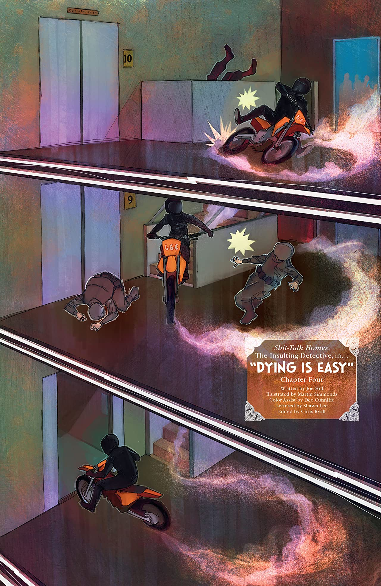 Dying is Easy #4 (of 5)