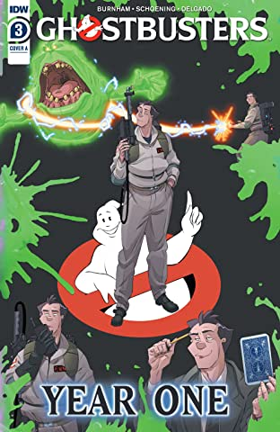 Ghostbusters: Year One No.3 (sur 4)