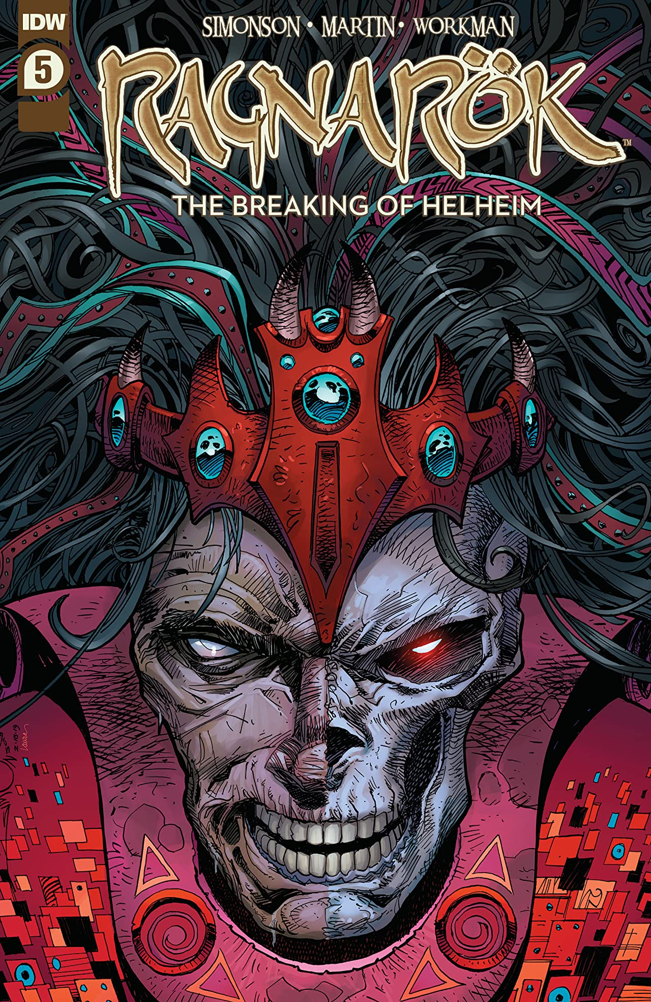 Ragnarök: The Breaking of Helheim No.5 (sur 6)
