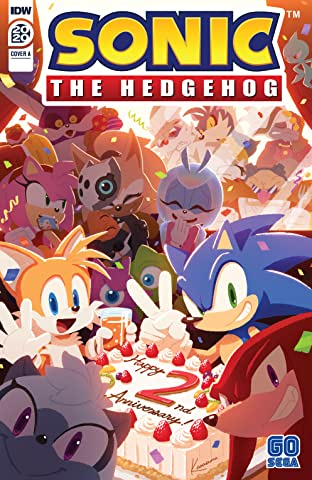 Sonic the Hedgehog Annual 2020