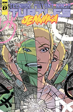 Teenage Mutant Ninja Turtles: Jennika No.2 (sur 3)