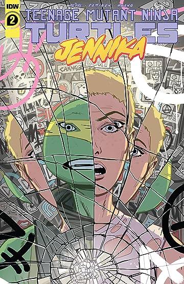 Teenage Mutant Ninja Turtles: Jennika No.2 (sur 3)