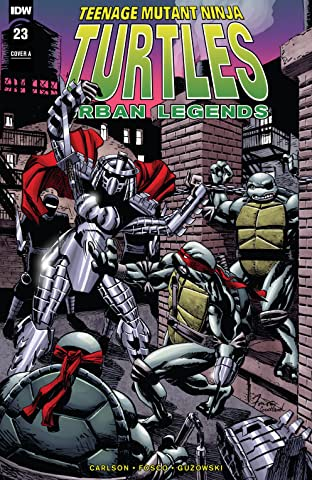 Teenage Mutant Ninja Turtles: Urban Legends No.23