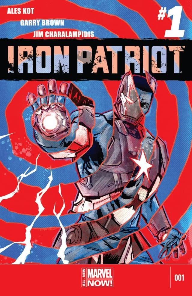 Iron Patriot (2014-) #1