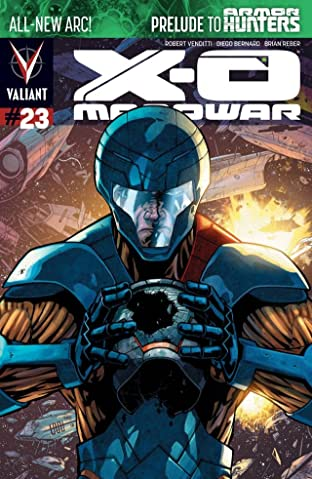 X-O Manowar (2012- ) No.23: Digital Exclusives Edition