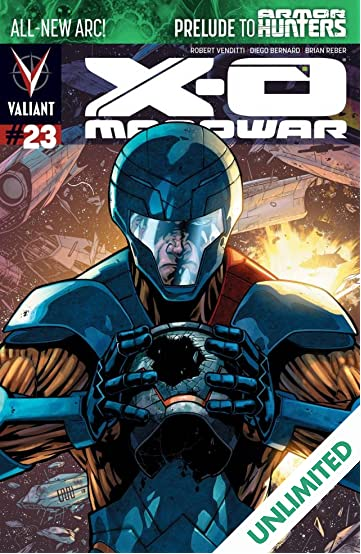 X-O Manowar (2012- ) #23: Digital Exclusives Edition