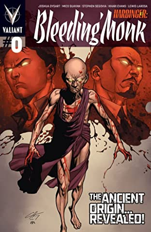 Harbinger (2012- ): Bleeding Monk No.0: Digital Exclusives Edition