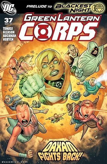 Green Lantern Corps (2006-2011) #37