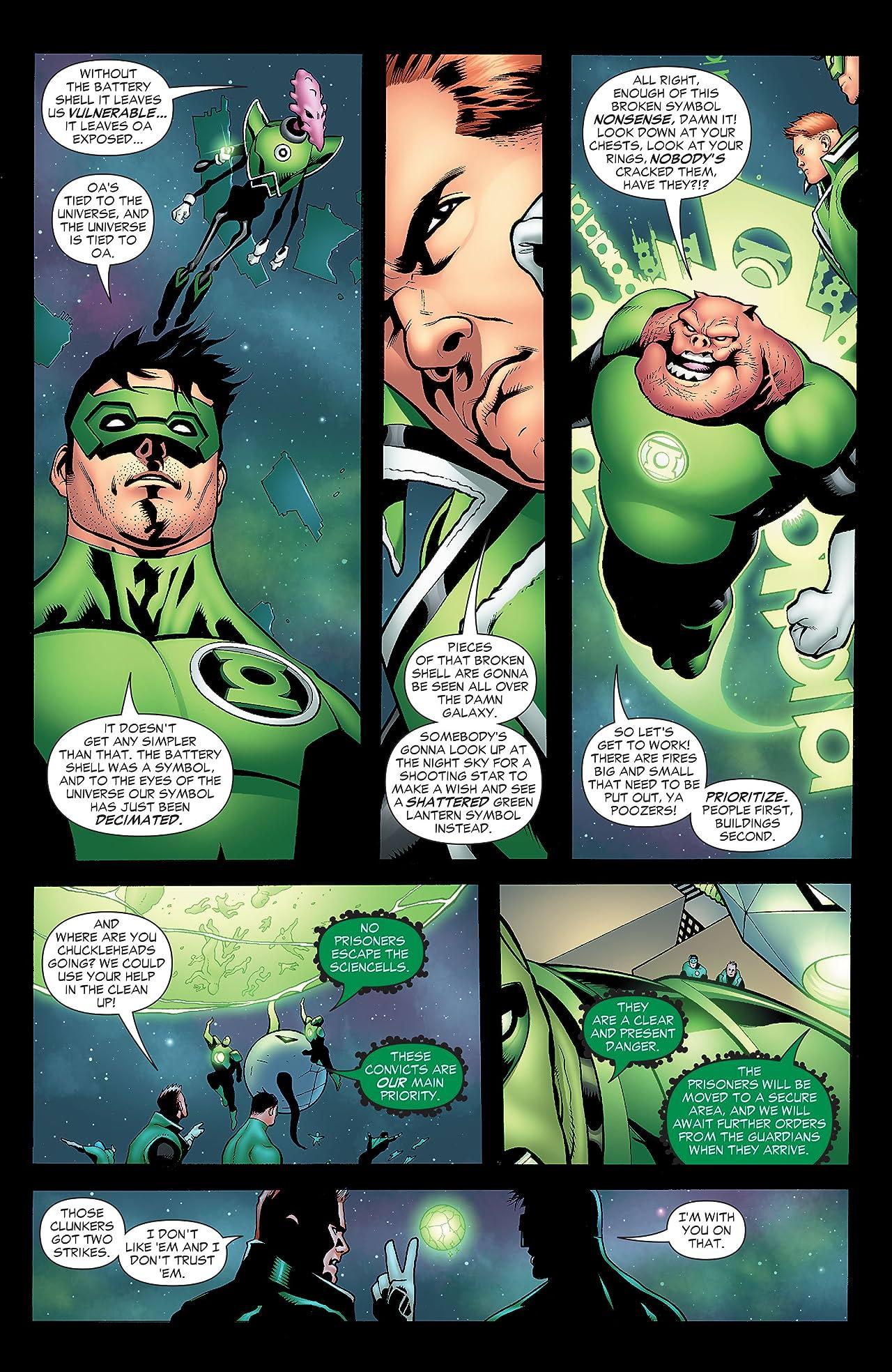 Green Lantern Corps (2006-2011) #38